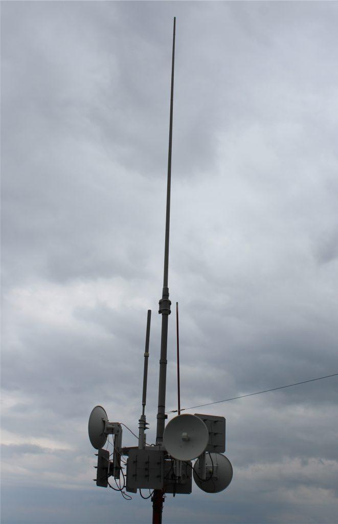 DB0XK und DB0AAI alle Antennen