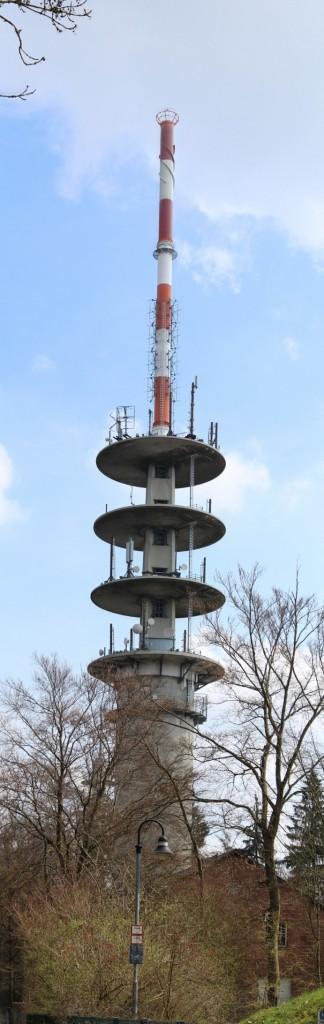 DB0ZH Telekom Turm Heidelberg Königsstuhl 2