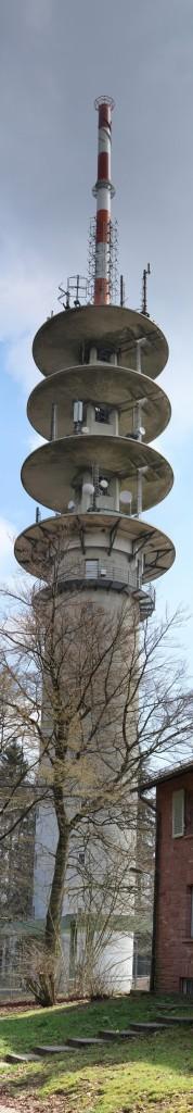 DB0ZH Telekom Turm Heidelberg Königsstuhl 3