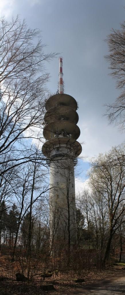 DB0ZH Telekom Turm Heidelberg Königsstuhl 7