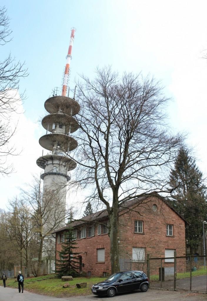 DB0ZH Telekom Turm Heidelberg Königsstuhl 8
