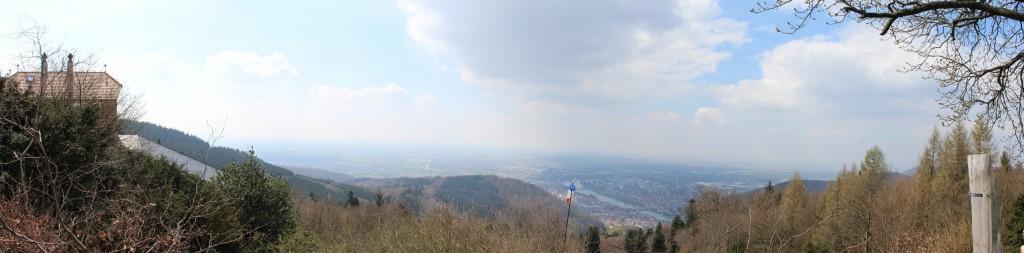 DB0ZH Telekom Turm Heidelberg Königsstuhl Panorama 2