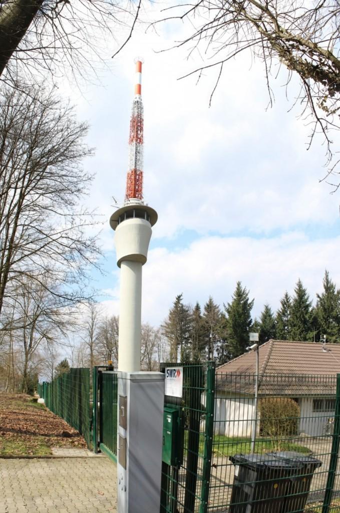 Königsstuhl SWR Turm