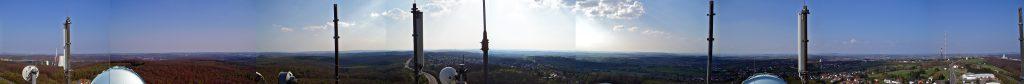 Panorama vom Wasserturm