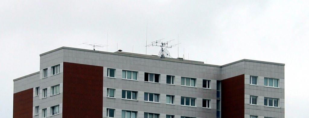 DB0HRO Antennen Rostock Amateurfunkrelais lütten klein