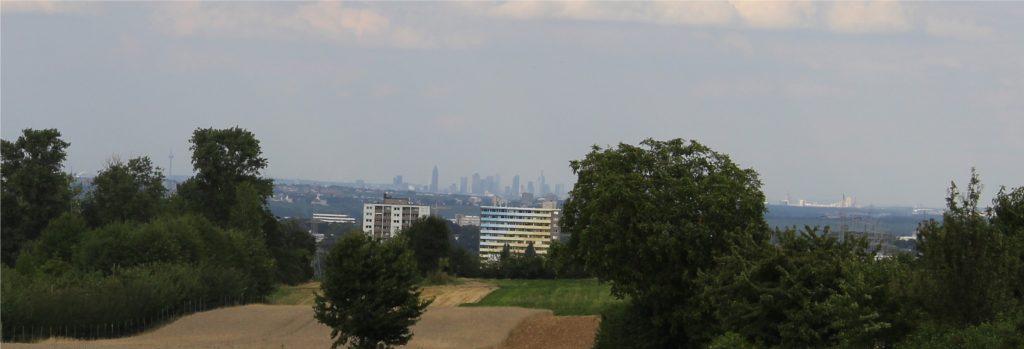 DB0ZDF Blick auf Frankfurt