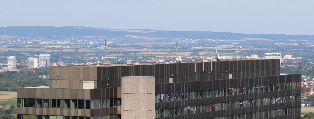 DB0ZDF Mainz Lerchenberg Antennen
