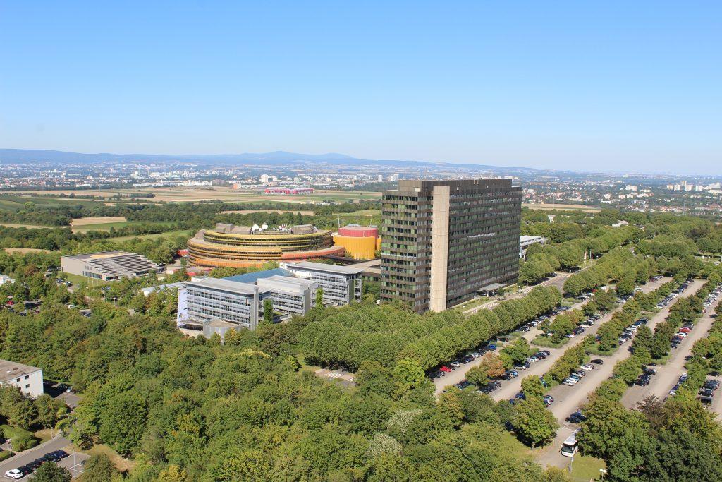 Mainz Lerchenberg Fernsehgarten und DB0ZDF DO0SMZ